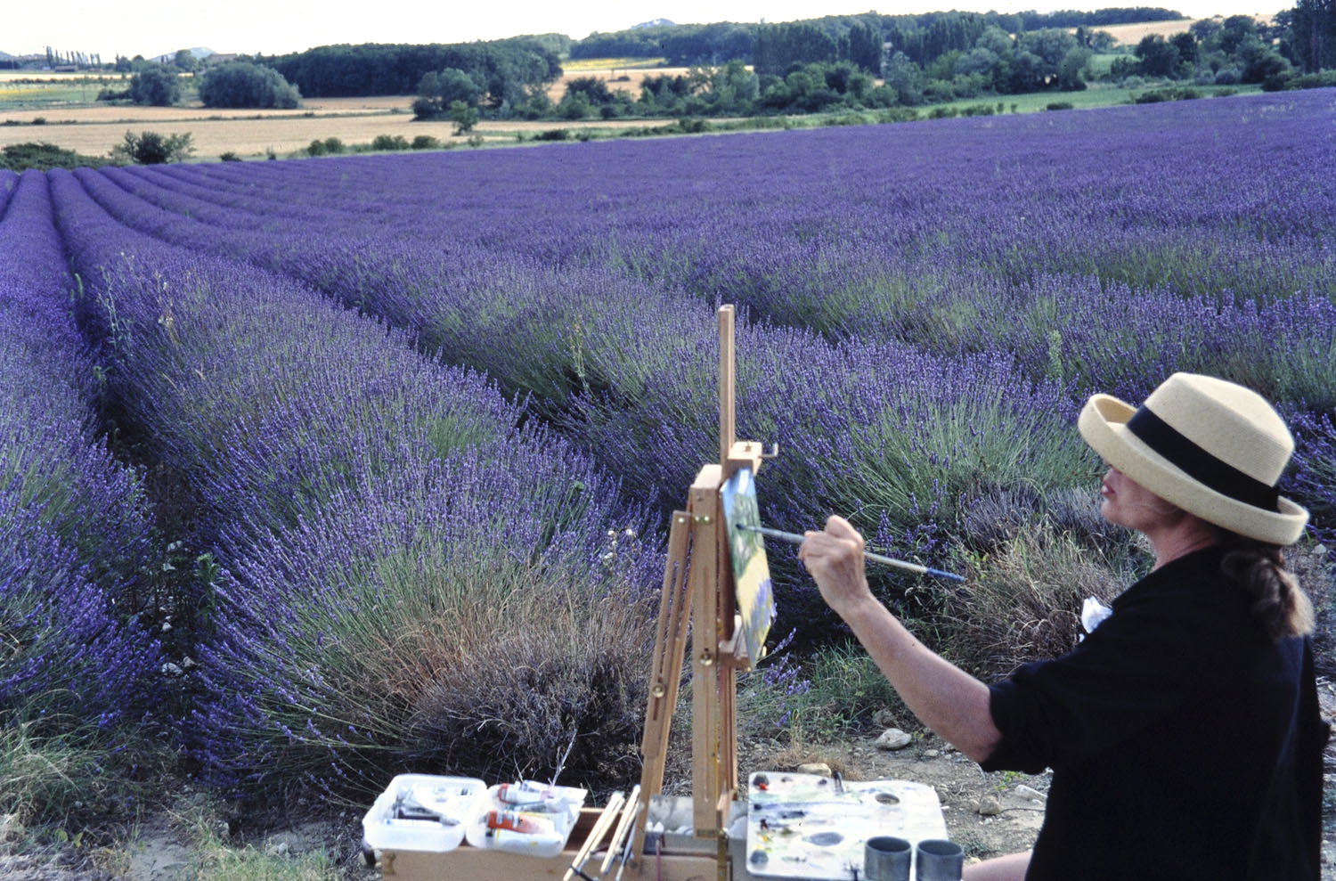 Judy in Provence